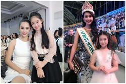 Bé gái Cần Thơ được chụp với nhiều Hoa hậu Việt, đứng cạnh Hoa hậu Quốc tế trông khác hẳn