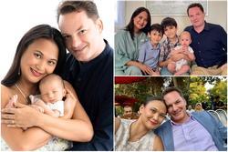 Cuộc sống hạnh phúc của chồng cũ Hồng Nhung bên người vợ mới
