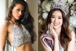 Bản tin Hoa hậu Hoàn vũ 23/2: Nguy cho Khánh Vân khi đối thủ Ấn Độ lộ diện quá xinh đẹp