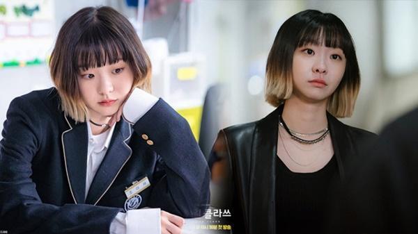 Khác hoàn toàn hình ảnh nữ quái trong Itaewon class, Kim Da Mi ngoài đời đẹp thuần khiết-2