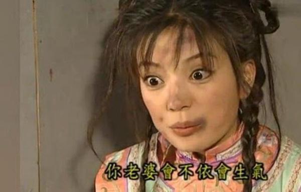 Triệu Vy từng bị đánh tới mệt lả trong Hoàn Châu cách cách-2