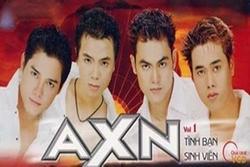 Nhóm nhạc AXN bất ngờ tái ngộ khiến các fan xúc động khôn nguôi