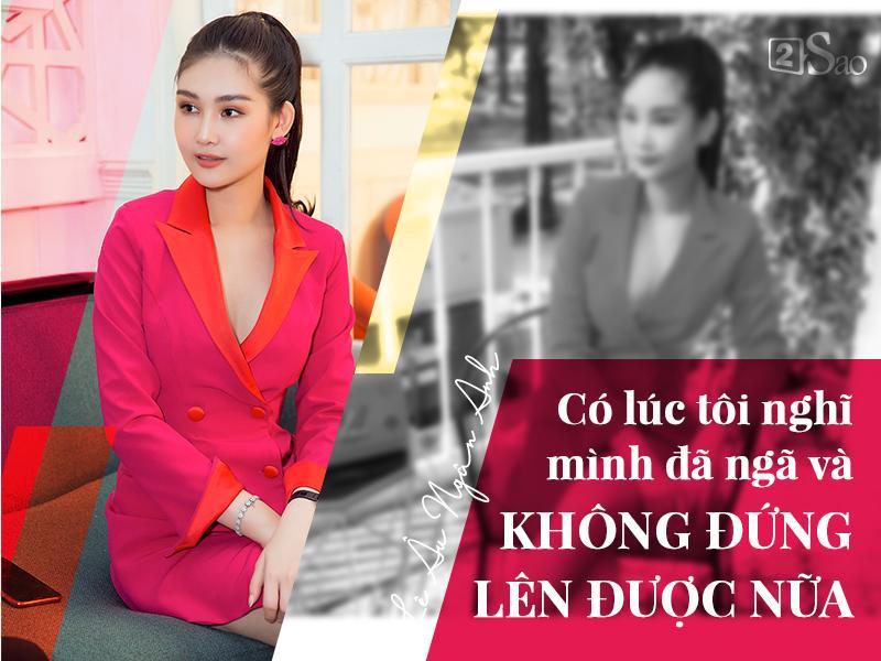 Hoa hậu Lê Âu Ngân Anh: Tôi nghĩ nhan sắc mình hiện tại được 8/10-1