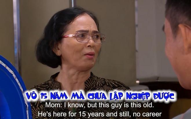 Con gái tham gia show hẹn hò, mẹ đi theo liên tục chê chàng trai: 15 năm ở Sài Gòn mà không có công việc ổn định-1