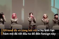 Nhóm nhạc Hàn khóc nức nở ở sự kiện