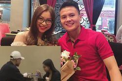 HOT: Bắt gặp Quang Hải - Nhật Lê cùng nhau đi ăn, chàng còn tình tứ đưa nàng về bằng xe máy