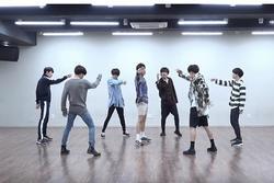 BTS tung clip phòng tập cho sân khấu 'ON'
