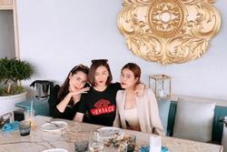 Lưu Hương Giang, Hoàng Thùy Linh và Lã Thanh Huyền hiếm hoi chung khung hình: Đều ngoài 30 vẫn đẹp ngất ngây