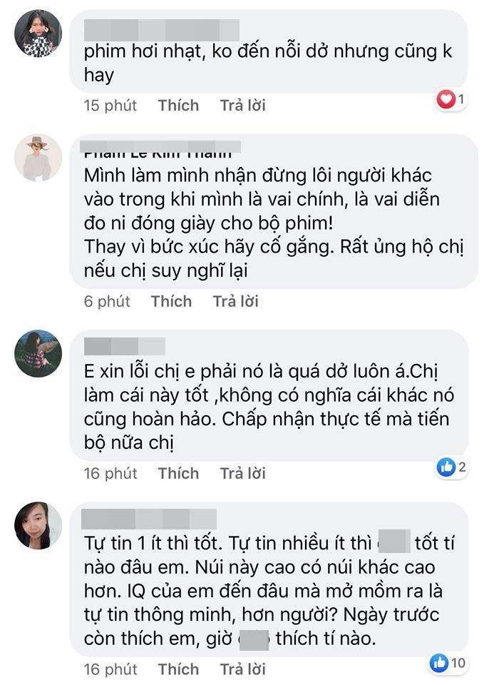 Hương Giang phản kháng khi bị chê diễn dở, dân mạng quật lại: Hoa hậu Quốc tế mà tính cách ao làng-4