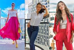 Bản tin Hoa hậu Hoàn vũ 26/2: Phạm Hương chơi màu nổi xuất sắc, độ sang chảnh 'chặt' cả dàn mỹ nhân