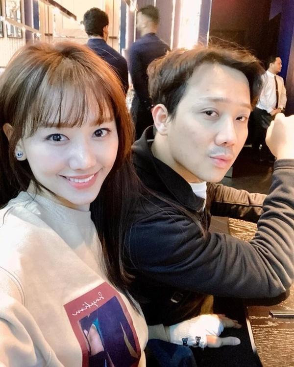 Hari Won khiến fan bất ngờ khi chơi hẳn tóc ombre tông tím lịm chất hơn nước cất-5