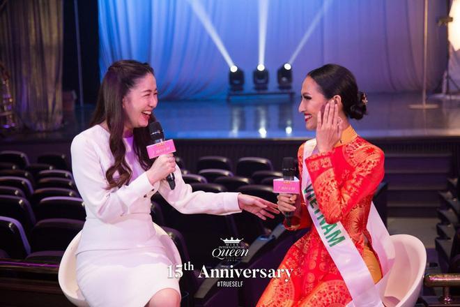 Trình độ tiếng Anh chênh lệch của 3 đại diện Việt Nam tại Hoa hậu Chuyển giới Quốc tế-5