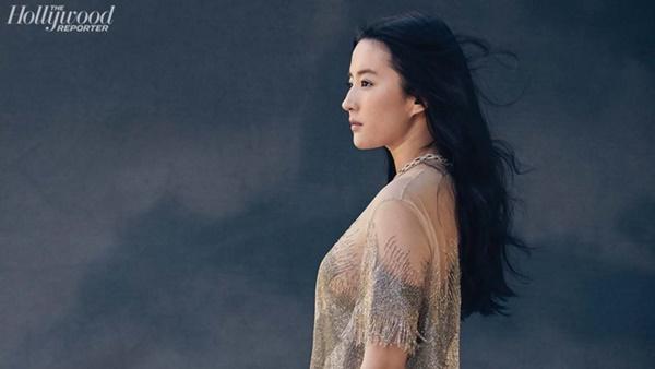 Lưu Diệc Phi chia sẻ sự khổ cực khi vào vai Mộc Lan trên tạp chí Mỹ-6