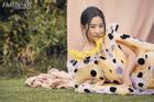 Lưu Diệc Phi chia sẻ sự khổ cực khi vào vai Mộc Lan trên tạp chí Mỹ