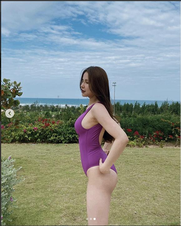Diệp Lâm Anh lộ vết rạn da sau 2 lần sinh nở liền 2 năm, vẫn được các mẹ bỉm khen đẹp tới tấp-7
