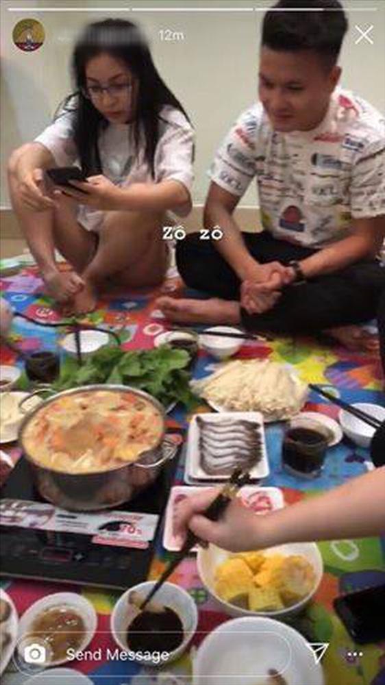 Tỉnh bơ chuyện Quang Hải tái hợp Nhật Lê, cô chủ tiệm nail có hành động khó tin-2