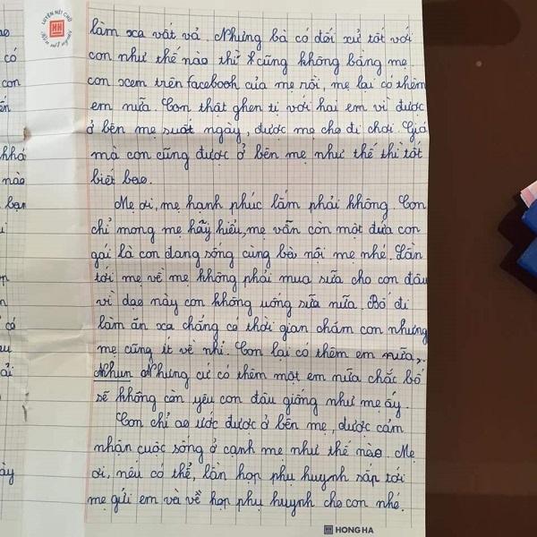 Mẹ lấy chồng xa, con gái 10 tuổi viết thư thương nhớ đọc mà nước mắt không ngừng rơi-4
