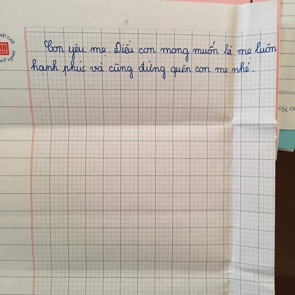 Mẹ lấy chồng xa, con gái 10 tuổi viết thư thương nhớ đọc mà nước mắt không ngừng rơi-5