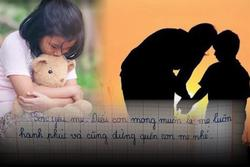 Mẹ lấy chồng xa, con gái 10 tuổi viết thư thương nhớ đọc mà nước mắt không ngừng rơi