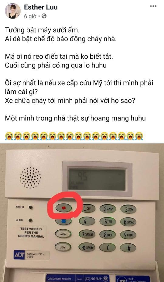 Hari Won sợ xanh mặt khi nhấn nhầm nút báo động cháy nhà-1