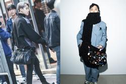 Jimin, G-Dragon và dàn sao nam Hàn Quốc đang đeo túi gì?