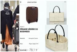 Mặc đồ chẳng có gì nổi bật nhưng Song Hye Kyo lại mang theo loạt phụ kiện giá cả trăm triệu tại sân bay