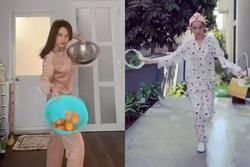 Sĩ Thanh bị 'ném đá' học mót Ngọc Trinh khi cosplay vũ điệu vẩy rau