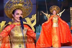 Hoài Sa tỏa sáng rực rỡ với phần thi quốc phục tại Hoa hậu Chuyển giới Quốc tế 2020