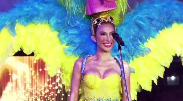 Hoài Sa tỏa sáng rực rỡ với phần thi quốc phục tại Hoa hậu Chuyển giới Quốc tế 2020-7