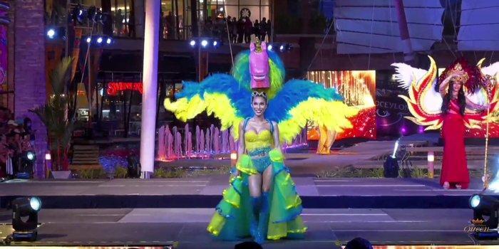 Hoài Sa tỏa sáng rực rỡ với phần thi quốc phục tại Hoa hậu Chuyển giới Quốc tế 2020-8