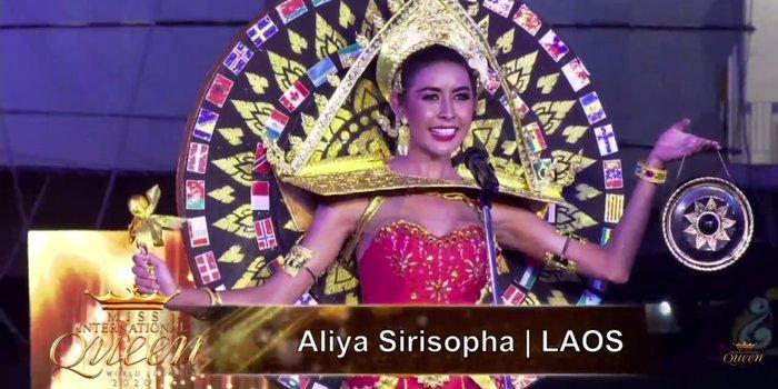 Hoài Sa tỏa sáng rực rỡ với phần thi quốc phục tại Hoa hậu Chuyển giới Quốc tế 2020-15