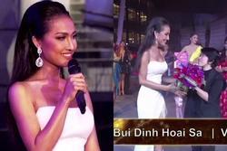 Chới với hát nhạc diva, Hoài Sa vẫn ẵm giải nhì tài năng tại Hoa hậu Chuyển giới 2020