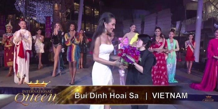 Chới với hát nhạc diva, Hoài Sa vẫn ẵm giải nhì tài năng tại Hoa hậu Chuyển giới 2020-3