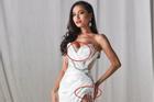 Chọn đầm dạ hội cắt xẻ táo bạo nhưng Hoài Sa lại kém duyên vì để lộ nội y tại Hoa hậu Chuyển giới quốc tế 2020