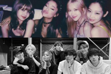 Mong thần tượng kết hợp với BTS và BlackPink, fan Ariana Grande đã đổi gout sang Kpop?