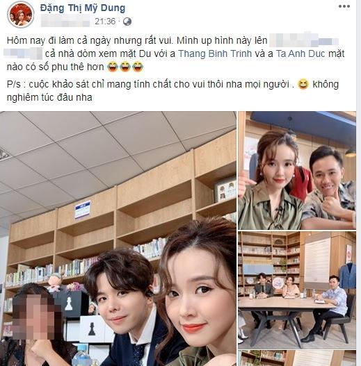 Vừa lộ dấu vết hẹn hò cùng Quốc Trường, Midu lại nhận có tướng phu thê với 2 mỹ nam showbiz Việt-2