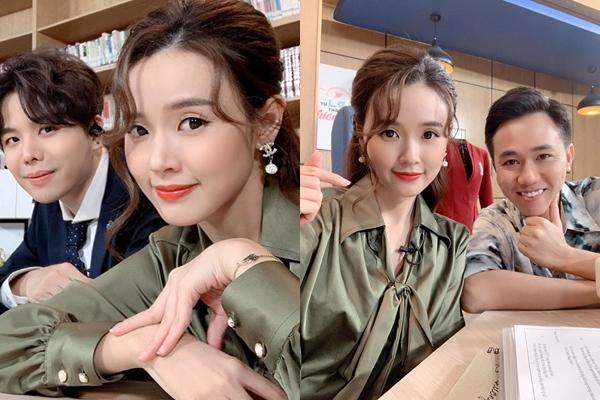 Vừa lộ dấu vết hẹn hò cùng Quốc Trường, Midu lại nhận có tướng phu thê với 2 mỹ nam showbiz Việt-3