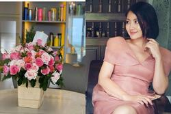 Ngọc Lan được người đàn ông bí ẩn tặng hoa sau 3 tháng công khai ly hôn Thanh Bình