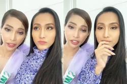Hoài Sa - Vicky Trần livestream chấm dứt 'đại chiến fandom' tại Hoa hậu Chuyển giới 2020