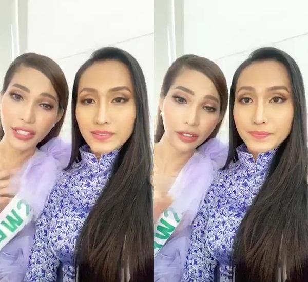 Hoài Sa - Vicky Trần livestream chấm dứt đại chiến fandom tại Hoa hậu Chuyển giới 2020-5