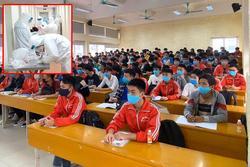 Ngay ngày đầu đi học, 1 học sinh ở Hậu Giang sốt - ho làm cả lớp phải nghỉ học
