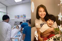 Ngọc Lan nhập viện nửa đêm, liên tục cầu xin bác sĩ cứu mình vì con còn quá nhỏ