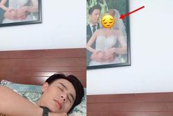Khoe ảnh 'giường chiếu', nam MC nổi tiếng vô tình để lộ ảnh cưới, nhan sắc cô dâu gây tò mò