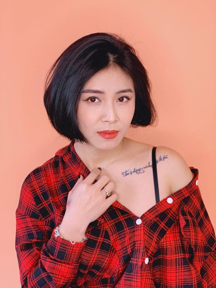 MC Hoàng Linh tung bộ ảnh khoe vai trần và vòng 1 gợi cảm-1