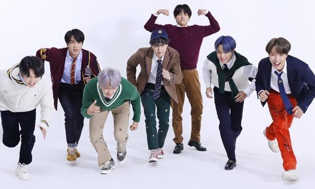 Nhóm nhạc BTS lập kỷ lục mới trên bảng xếp hạng Billboard-1