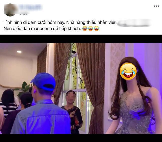 Đám cưới điều động dàn lễ tân độc dị, vừa nhìn thấy toàn thể khách mời ai nấy... đứng hình-1