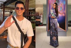 Không thể sang Thái Lan cổ vũ Hoài Sa thi đấu, Trọng Hiếu vẫn làm điều ngọt ngào cho mỹ nhân
