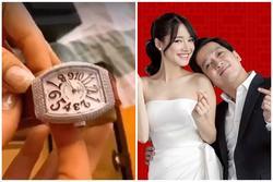 Trường Giang tặng vợ đồng hồ túi xách hàng hiệu, nhưng Nhã Phương chỉ băn khoăn chồng đã lập quỹ đen!