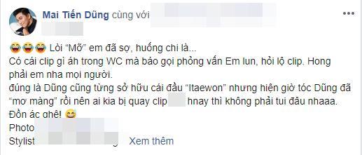 Mai Tiến Dũng bị nghi ngờ lộ clip nóng, Tóc Tiên công khai vào xin link-1