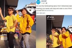 UNICEF chia sẻ 'Vũ điệu rửa tay' phòng virus corona của Quang Đăng